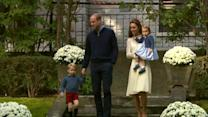 Prince George, Princess Charlotte Make Royal Appearance