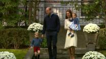 Prince George, Princess Charlotte Make Royal Appearance
