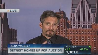 Detroit homes up for auction