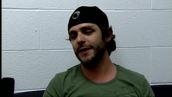 Raw interview: Thomas Rhett on touring with Jason Aldean