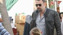 Affleck Pledges to Live on $1.50 a Day