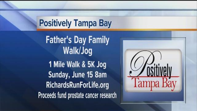 Positively Tampa Bay: Father's Day Family Walk/Jog
