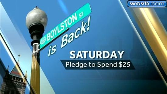 Spend $25 during Boylston is Back