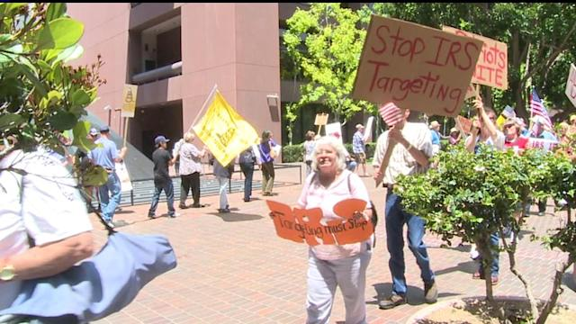 IRS Scandal Sparks Local Protests