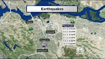 Swarm Of Earthquakes Shake East Bay Cities
