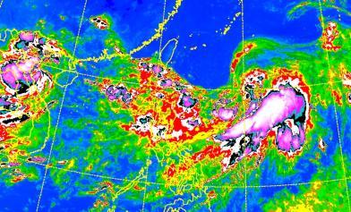 安比颱風形成了 恐來擾周末