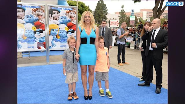 Britney Spears Does Brunch With Sons Sean And Jayden
