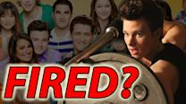 Chris Colfer Fired From Glee?!