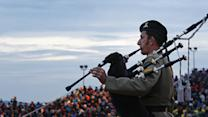 Raw: Leaders Mark 100th Year of Gallipoli Battle