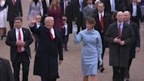 The 2017 Inauguration Parade