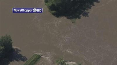 Levee Breaches Near Big Lake