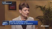 Duke Energy CEO:  Eye on renewable energy