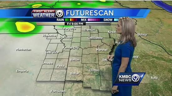 Rain chances on increase for weekend