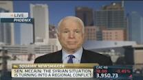 Sen. McCain: It would be easy to establish a safe zone in...
