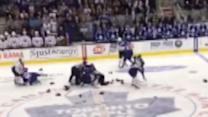Wild Brawl Breaks Out During Leafs, Sabres Preseason Game