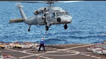 Navy Helicopter Crashes In Red Sea