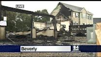 Fire That Damaged Eight Homes In Beverly Was Intentionally Set