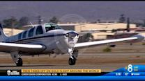 Teen takes off on solo flight around the world