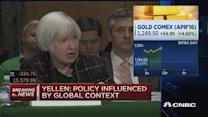 Negative rates would squeeze bank margins: Yellen