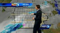 Tracking next snow system