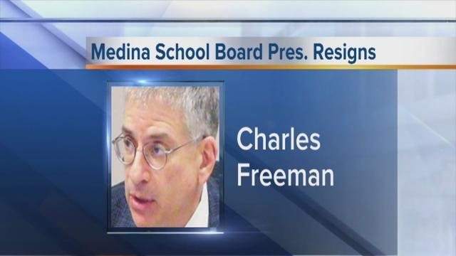 President of Medina School Board resigns over questions about district chief's compensation