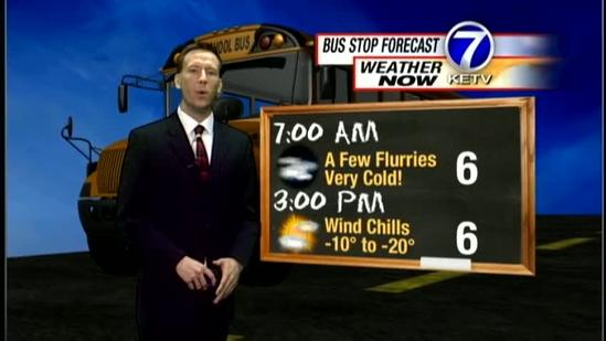 Matt's Thursday Morning Forecast