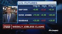 Weekly jobless claims up 12K to 282,000