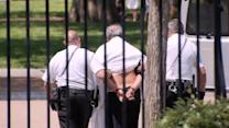Man detained in front of White House
