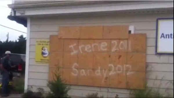 Mandatory evacuations force Jersey Shore residents out