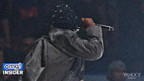Kanye West Suffers Wardrobe Malfunction During Concert