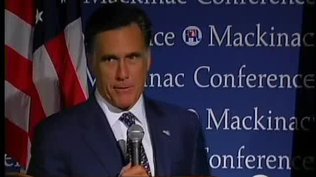 Romney Visits Michigan
