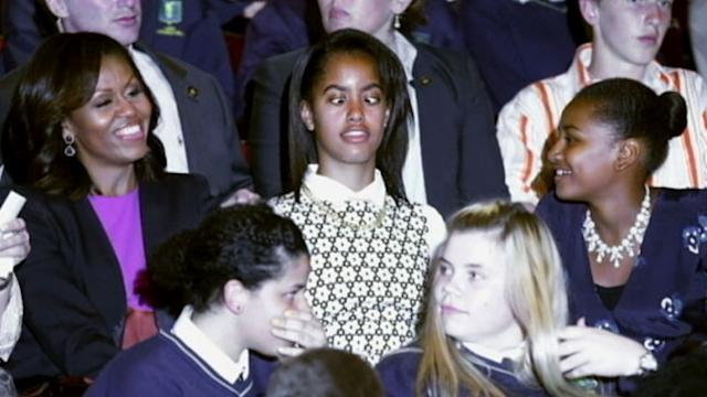 Obama Girls Not Impressed With Summer Vacation?