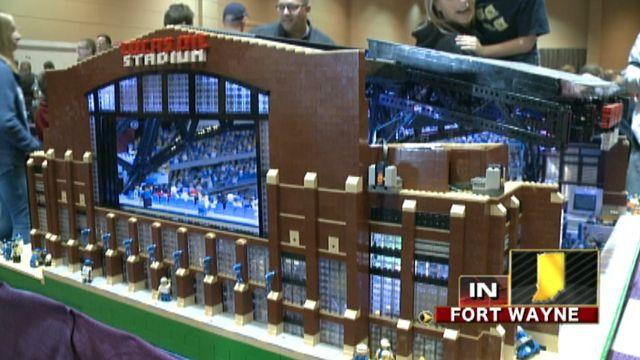 Across America: LEGO creations showcased in Indiana