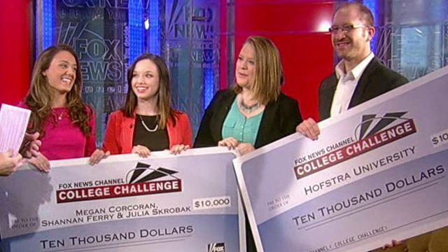2013 FNC College Challenge winners
