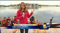 Ava visits Baltimore's Dragon Boat Club