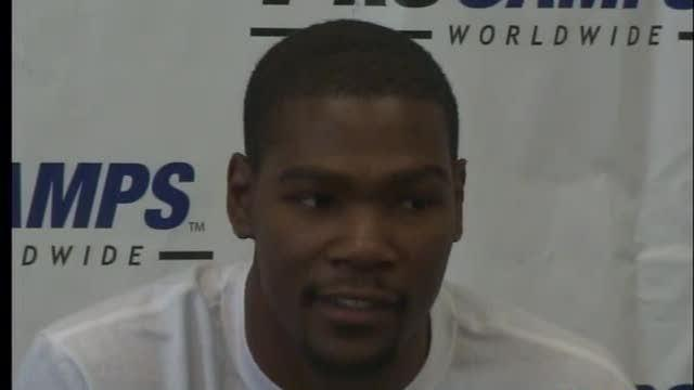 Kevin Durant says NBA Players