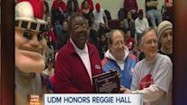 Reggie Hall honored by University of Detroit Mercy
