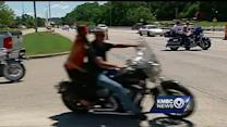 Motorcyclists ride to honor mom killed in fall from party bus