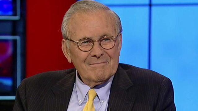 Donald Rumsfeld shares his life lessons