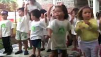 Central Union kids perform for dedication
