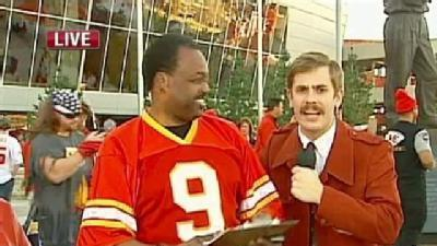 Watch: 'Ron Burgundy' Crashes KMBC Report