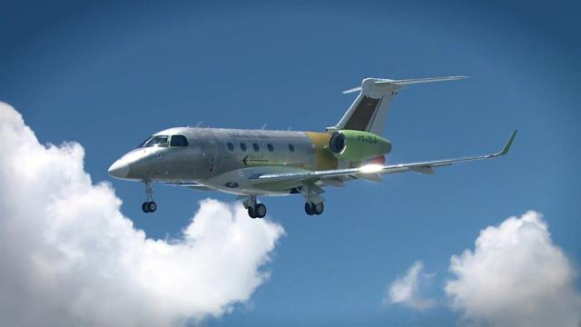 NEW EMBRAER'S FIRST FLIGHT