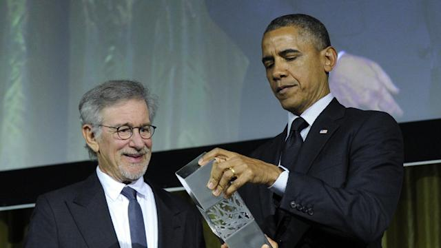 President Obama Honored at USC Shoah Foundation`s 20th Anniversary Gala