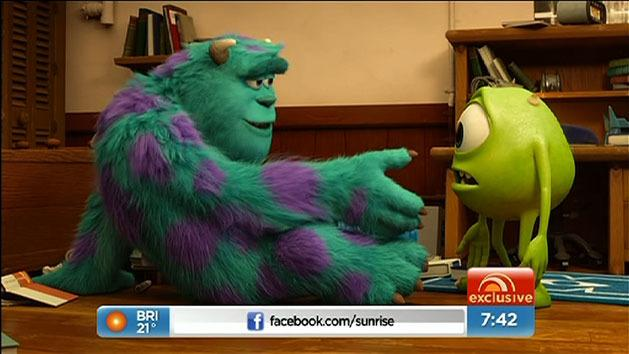John Goodman and Billy Crystal star in Monsters University