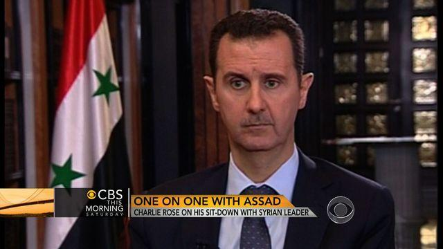 Rose pursued Assad interview for over a year