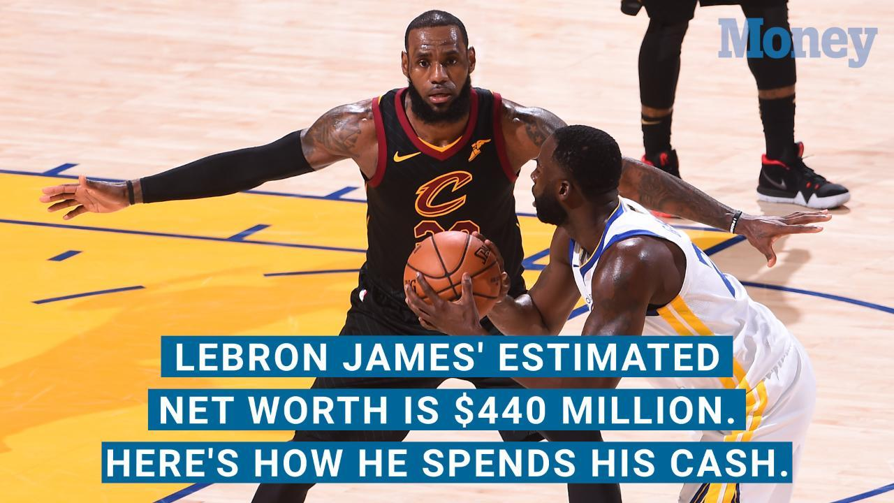 lebron james s estimated net worth is 440 million here s how he