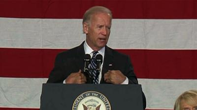 Biden: I Never Met Them, 'but I Know Them'