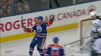 Sam Gagner pushes one past Pavelec