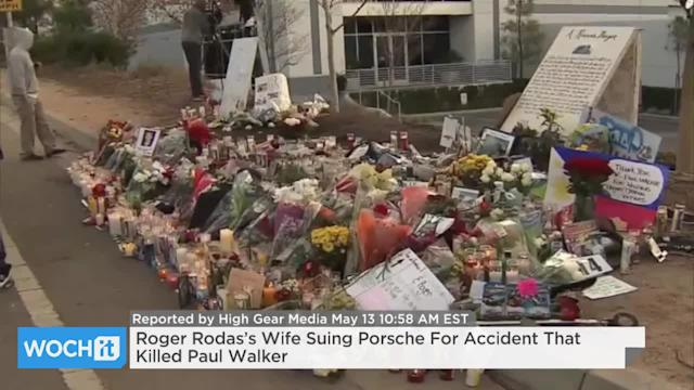 Roger Rodas's Wife Suing Porsche For Accident That Killed Paul Walker