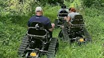 How 'Track Chairs' are helping wounded warriors